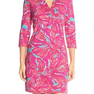Lilly Pulitzer Dress XS Alessia Flirty Sea Floral